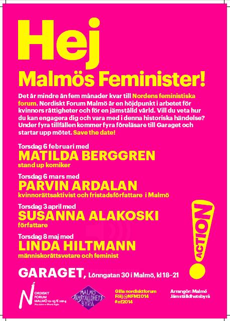 Hej Malmös feminister