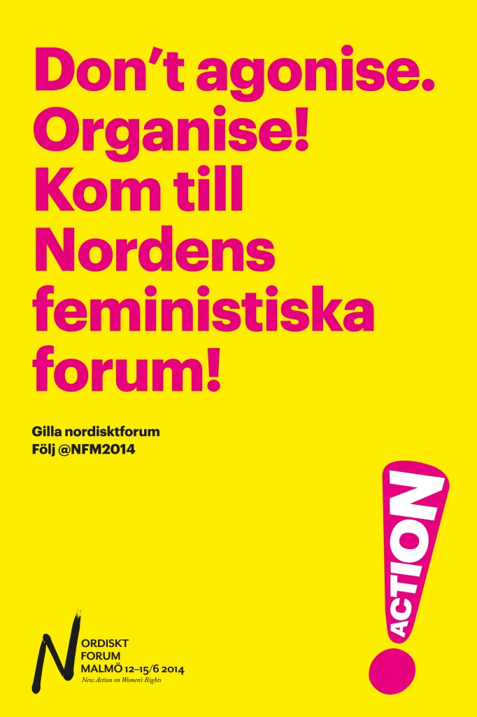 Annons till Bang, Don´t agonise. Organise!
