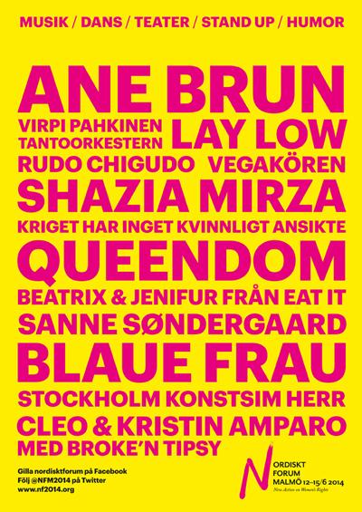 Nordiskt Forums kulturprogram_140226